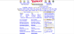 Yahoo Website 2001