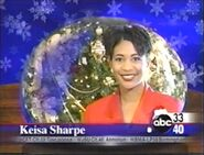 ABC 33-40 Season Greetings ID with Keisa Sharpe