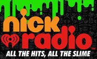 Nick radio logo with slogan