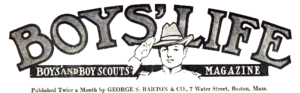 Boys' Life first logo