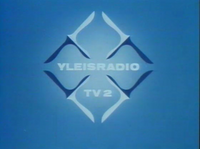 YLE TV2 1980s logo