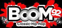 Boom92 logo site