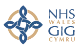 NHS logo in Wales