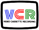 Philips Video Cassette Recording VCR Logo