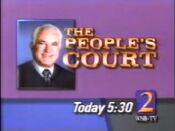 WSB-TV People's Court promo 1989