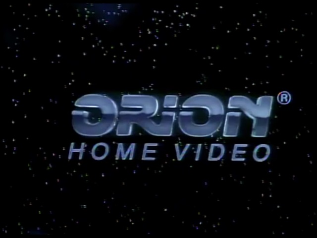 Orion Home Video 1990