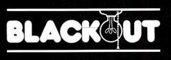 Blackout Flyer Logo