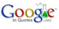 Googleinquotes