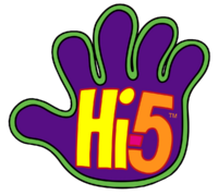 Hi-5 Logo 1999-2005