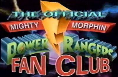Mighty Morphin Power Rangers Fan Club logo