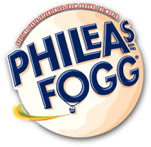 Phileas Fogg Snacks logo 2013