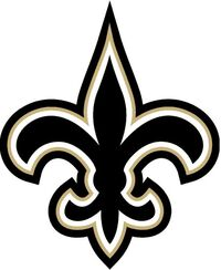 New Orleans Saint Black