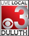 CBS 3 Duluth Logo