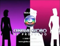 A Favorita seal short Globo 2008 logo 2008
