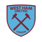 New West Ham United FC logo (blue and claret v2)