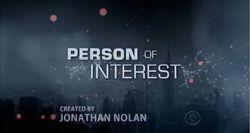 Person of Interest Season 1