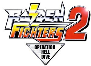 Raiden Fighters 2 Logo 1 a