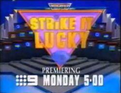 Strike it Lucky AUS '94 promo