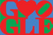 Google logo Valentines 2011