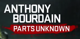 Logo for Anthony Bourdain Parts Unknown