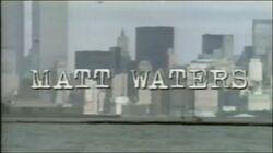 Matt Waters