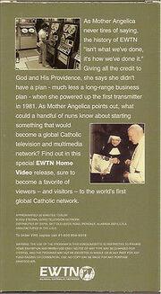 EWTN VHS 2 (back cover)