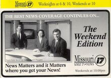 The KMIZ-TV Weekend News Team