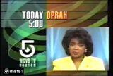 WCVB-TV Oprah Promo January 1990