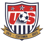 United States Soccer Federation logo (100th anniversary)