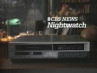 CBS Nightwatch 1986 Promo