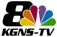 KGNS-TV 8 logo