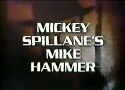Mickey Spillane's Mike Hammer 1984 Intertitle