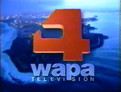 WAPA-TV's Video ID from 1997