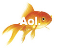 AOL logo fish