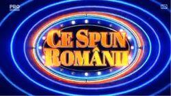Ce Spun Romanii 2015