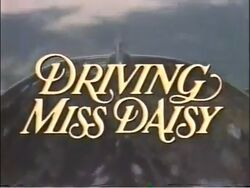 Driving Miss Daisy TV Pilot