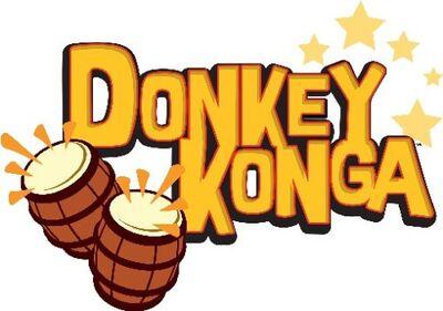 Donkey Konga Logo