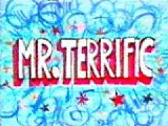 Mr terrific logo