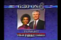 WFAA-TV News 8 id promo montage 1985-1999