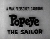 Popeye tv1938