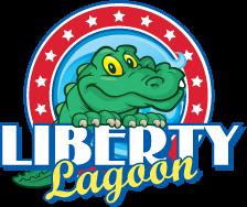Liberty lagoon logo