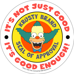 Krusty s Seal of Approval by KrnBgn