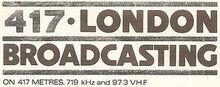 LBC (1973 - Launch)