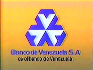 Banco de Venezuela old logo