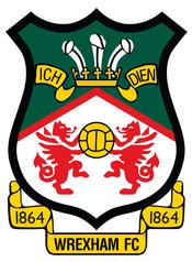 Wrexham FC logo (1864 date)