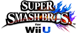 Logo EN - Super Smash Bros. Wii U