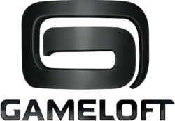 Gameloft Logo (2010; Black Version)