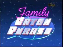 Family Catchphrase