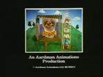 Aardman End Card Adam 1991