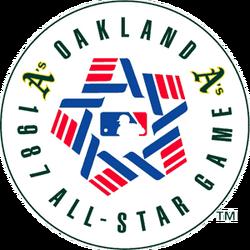 1987 Major League Baseball All-Star Game logo